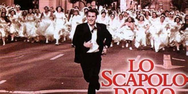 """Poster del film """"Lo scapolo d'oro"""""""