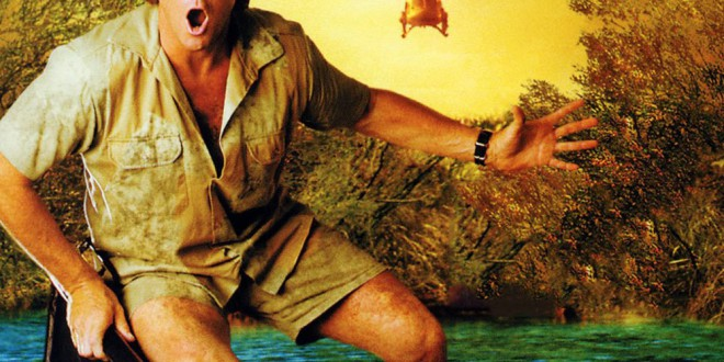 "Poster del film ""The Crocodile Hunter: Collision Course"""