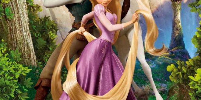 "Poster del film ""Rapunzel - L'intreccio della torre"""
