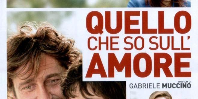 """Poster del film """"Quello che so sull'amore"""""""