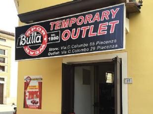 Villanova sull\'Arda. Temporary Outlet di Bulla Store. Grandi firme ...