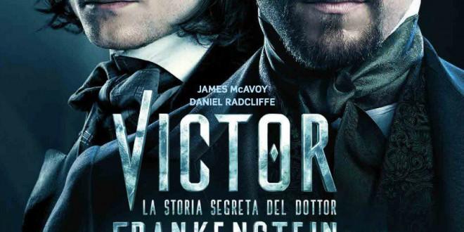 "Poster del film ""Victor: La storia segreta del dott. Frankenstein"""