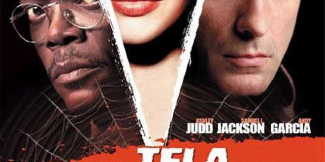 "Poster del film ""La tela dell'assassino"""
