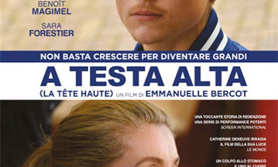 "Poster for the movie ""A testa alta"""