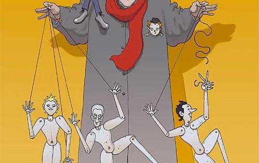 """Poster del film """"Fellini: Sono un gran bugiardo"""""""