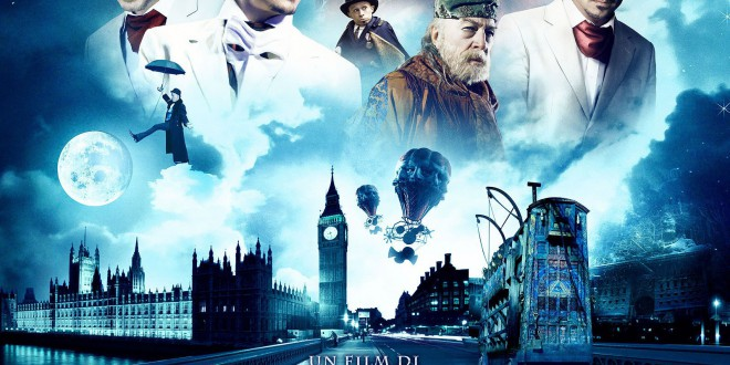 "Poster del film ""Parnassus - L'uomo che voleva ingannare il diavolo"""