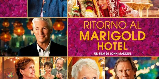 """Poster del film """"Ritorno al Marigold Hotel"""""""