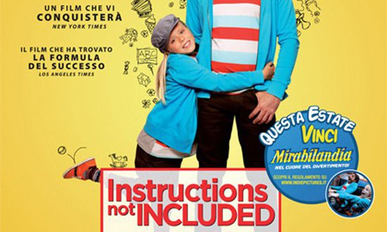 "Poster del film ""Instructions Not Included"""