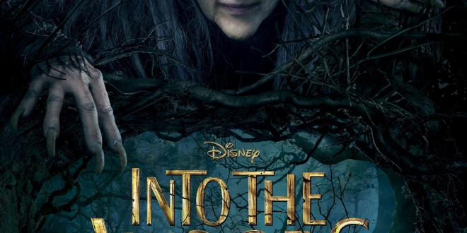 "Poster del film ""Into the Woods"""