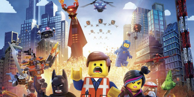 "Poster del film ""The Lego Movie"""