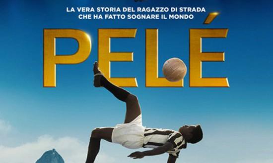 """Poster del film """"Pelé"""""""