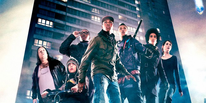 "Poster for the movie ""Attack the Block - Invasione aliena"""