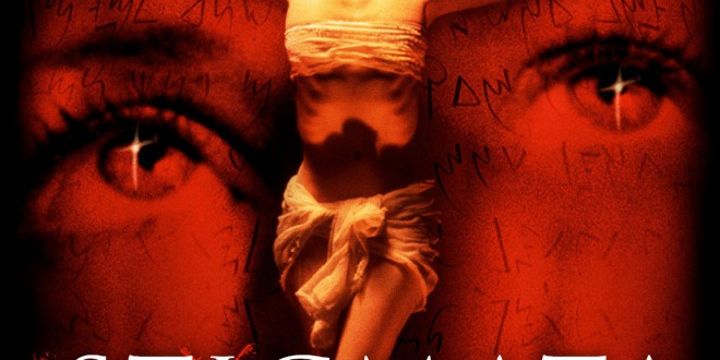 "Poster del film ""Stigmate"""