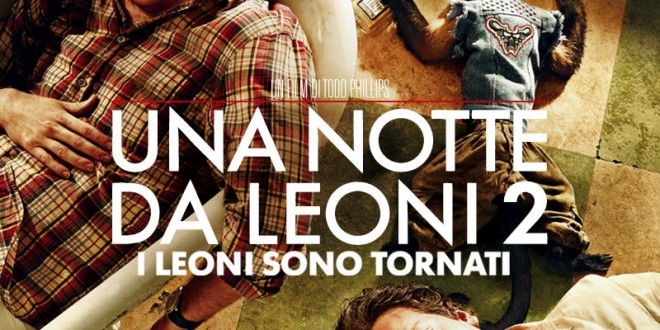 """Poster del film """"Una notte da leoni 2"""""""
