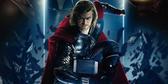 "Poster del film ""Thor"""