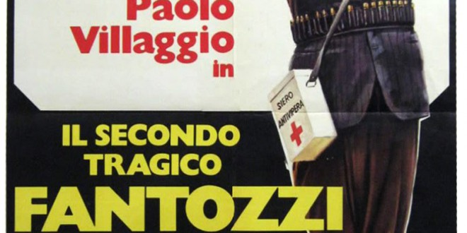 """Poster del film """"Il secondo tragico Fantozzi"""""""