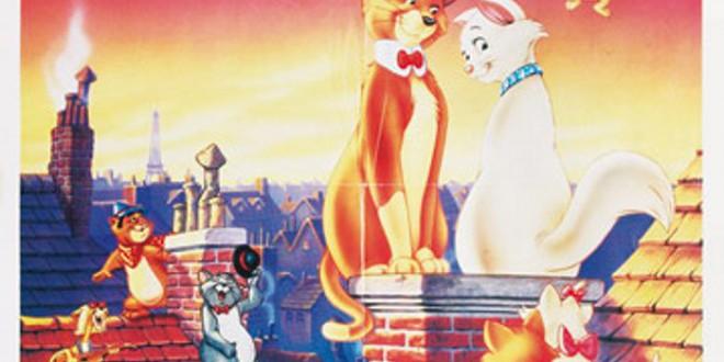 """Poster del film """"Gli Aristogatti"""""""