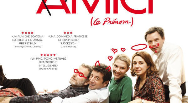 """Poster for the movie """"Cena tra amici"""""""