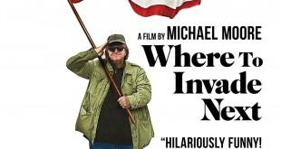 "Poster del film ""Where to Invade Next"""