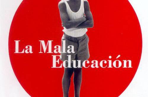 """Poster del film """"La mala educación"""""""