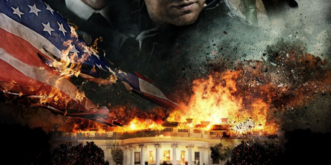 "Poster for the movie ""Attacco al potere - Olympus Has Fallen"""