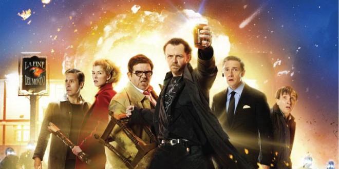 """Poster del film """"La fine del mondo"""""""