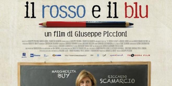 """Poster del film """"Il rosso e il blu"""""""