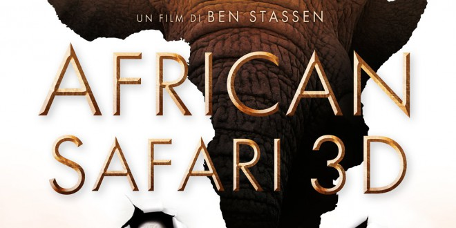 "Poster for the movie ""African Safari 3D"""