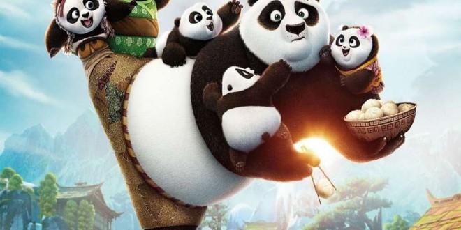 """Poster del film """"Kung Fu Panda 3"""""""