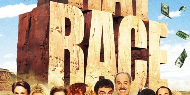 "Poster del film ""Rat Race"""