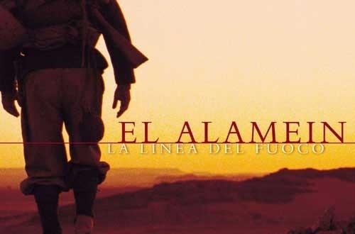 """Poster del film """"El Alamein - La linea del fuoco"""""""