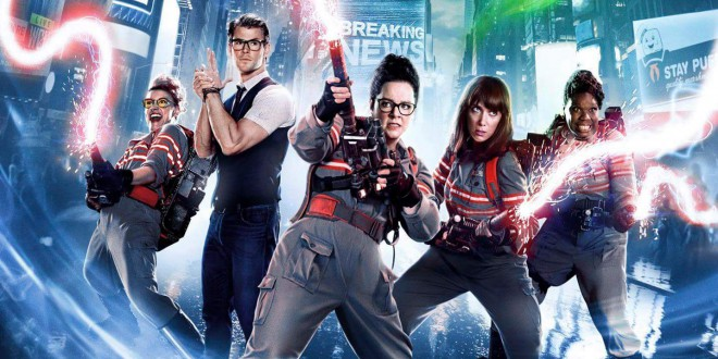 "Poster del film ""Ghostbusters"""