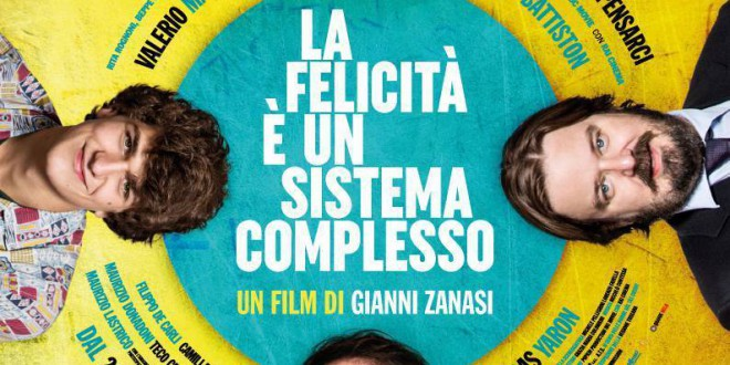 """Poster del film """"La felicità è un sistema complesso"""""""
