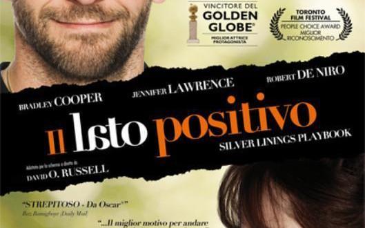 """Poster del film """"Il lato positivo - Silver Linings Playbook"""""""
