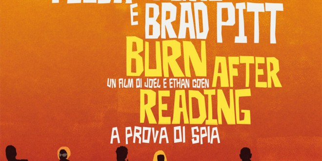 "Poster for the movie ""Burn After Reading - A prova di spia"""