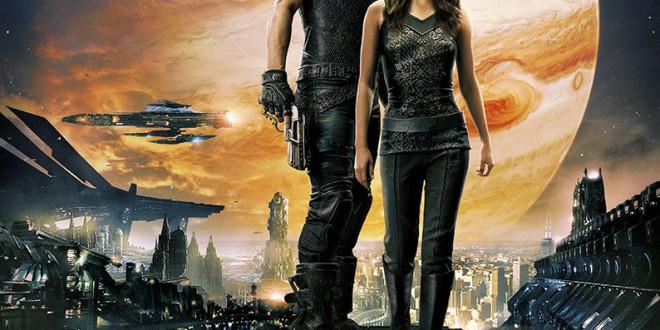 """Poster del film """"Jupiter - Il destino dell'universo"""""""
