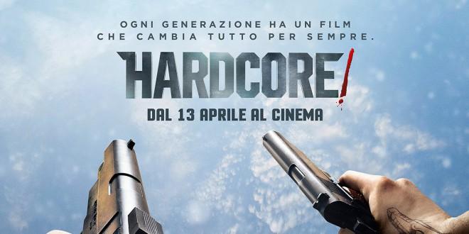 "Poster del film ""Hardcore!"""