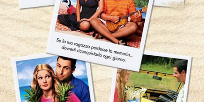 "Poster for the movie ""50 volte il primo bacio"""