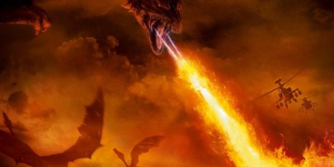 """Poster del film """"Il regno del fuoco"""""""