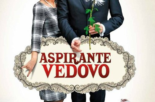 "Poster for the movie ""Aspirante vedovo"""