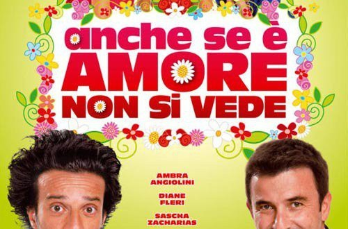 "Poster for the movie ""Anche se è amore non si vede"""
