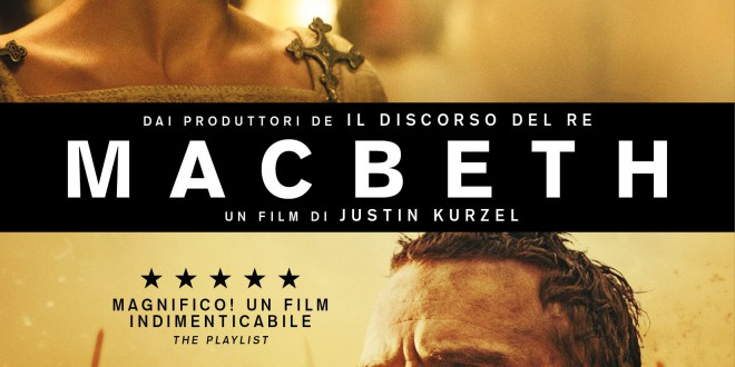 "Poster del film ""Macbeth"""