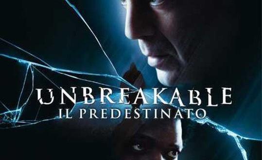 """Poster del film """"Unbreakable - Il predestinato"""""""