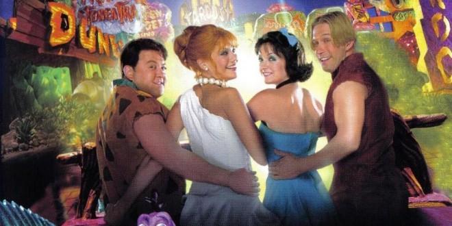 "Poster del film ""I Flintstones in Viva Rock Vegas"""