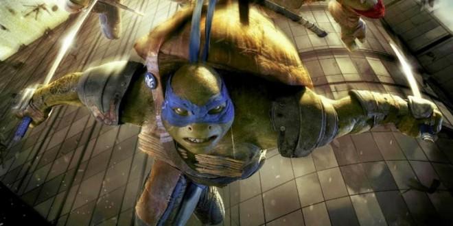 "Poster del film ""Tartarughe Ninja"""