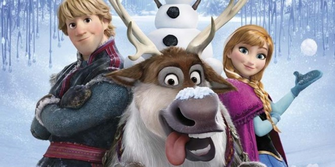 """Poster del film """"Frozen - Il regno di ghiaccio"""""""