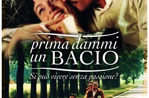 """Poster del film """"Prima dammi un bacio"""""""