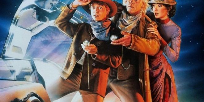 """Poster del film """"Ritorno al futuro - Parte III"""""""
