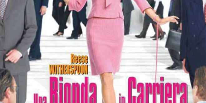 "Poster del film ""Una bionda in carriera"""