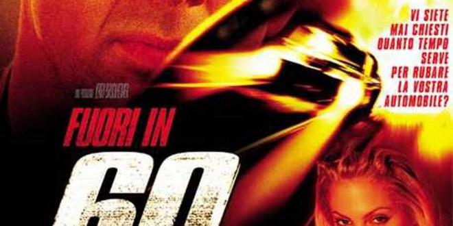 """Poster del film """"Fuori in 60 secondi"""""""